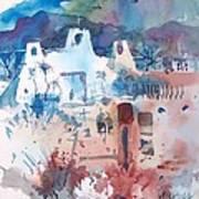 New Mexico Mission Art Print