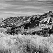 New Mexico Series - A View Of The Land Art Print