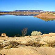 New Mexico Series - Abiquiu Lake Art Print