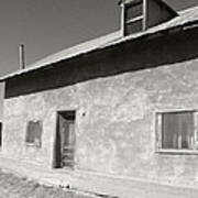 New Mexico Series - Adobe House In Truchas Art Print