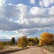 New Mexico Series - Autumn Clear Art Print