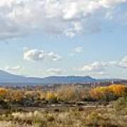 New Mexico Series - Autumn Landscape Art Print