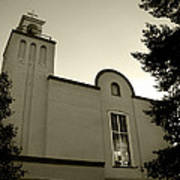 New Mexico Series - Our Lady Of Guadalupe Church Art Print