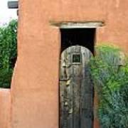 New Mexico Series - Santa Fe Doorway Art Print