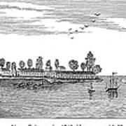 New Orleans, 1719 Art Print