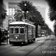 New Orleans Streetcar 2 Art Print