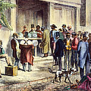New Orleans: Voting, 1867 Art Print