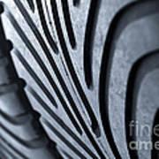 New Racing Tires Art Print