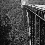 New River Gorge Bridge Fayetteville West Virginia Art Print