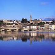New Ross, Co Wexford, Ireland Art Print