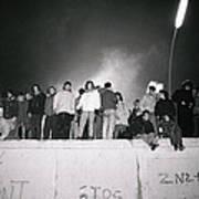 New Year At The Berlin Wall Art Print