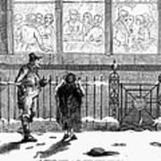 New Years Eve, 1859 Art Print