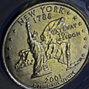 New York 2001 Art Print