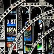 New York Abstract 1 Art Print