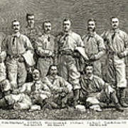 New York Baseball Team Art Print