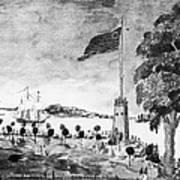 New York: Battery, 1793 Art Print