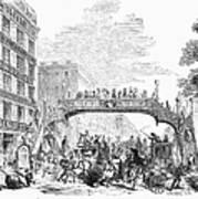 New York: Broadway, 1852 Art Print