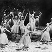 New York City Ballet Performing The Art Print by Everett