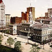 New York City Hall - 1900 Art Print