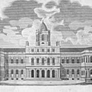 New York: City Hall, C1829 Art Print