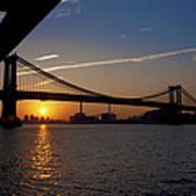 New York City Sunrise Art Print