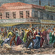 New York: Draft Riots 1863 Art Print