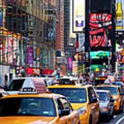 New York Gridlock Art Print