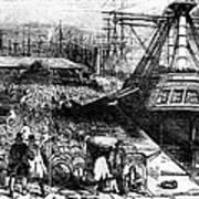 New York: Immigrants, 1854 Art Print
