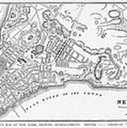 New York: Maps Art Print