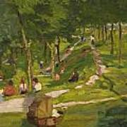New York Park Art Print