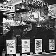 New York: Restaurant, 1948 Art Print