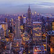 New York Skyline Panorama Art Print