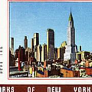New York: Skyscrapers Art Print
