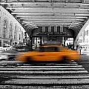 New York Taxi 1 Art Print