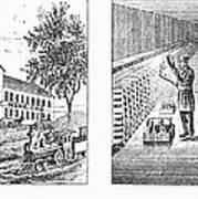 New York: Winery, 1878 Art Print