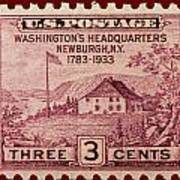 Newburgh Ny Postage Stamp Art Print