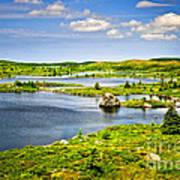 Newfoundland Landscape Art Print