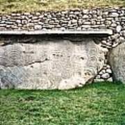 Newgrange Runes Art Print