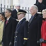 Newly Inaugurated President Obama Print by Everett