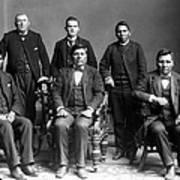 Nez Perce Delegates With Benjamin Print by Everett
