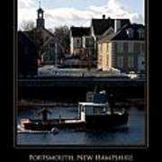 Nh Working Harbor Art Print by Jim McDonald Photography