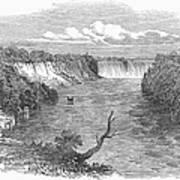Niagara Falls, 1849 Art Print