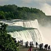 Niagara Falls State Park Art Print by Mark J Seefeldt