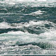 Niagara River Rapids 2 Art Print