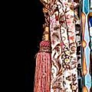 Nice Curtain Art Print by Tom Gowanlock