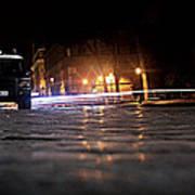 Night Cops Art Print