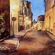 Nightlights Art Print by Bobbi Price