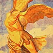 Nike Goddess Of Victory Print by Teresa Beyer