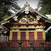 Nikko Architecture With Gold Roof Art Print