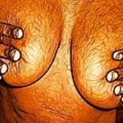 Nipple Squeeze Art Print